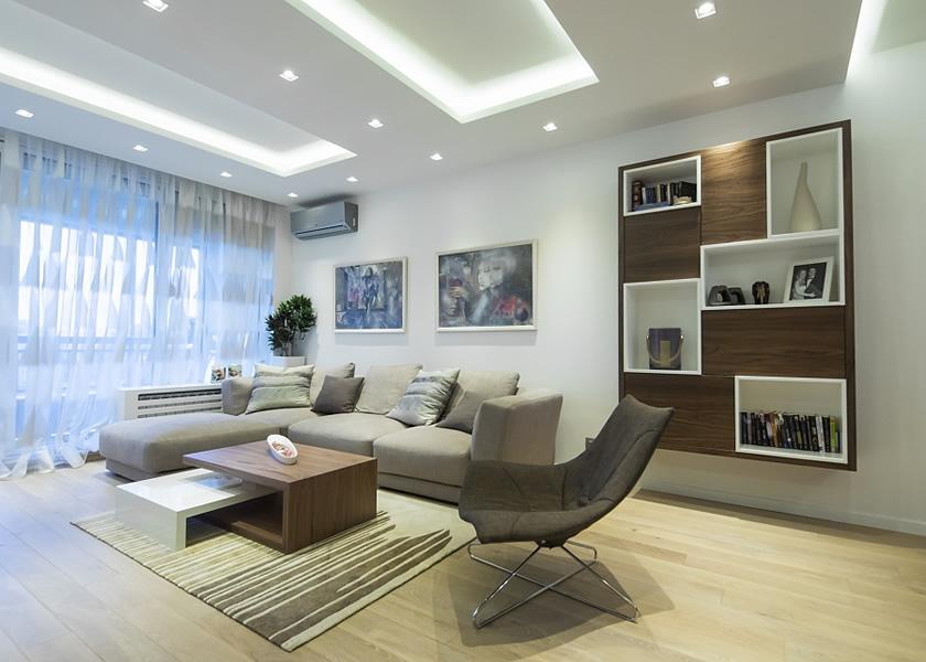 Dnevne sobe - projektovanje, dizajn, izrada nameštaja po meri - 3A dizajn